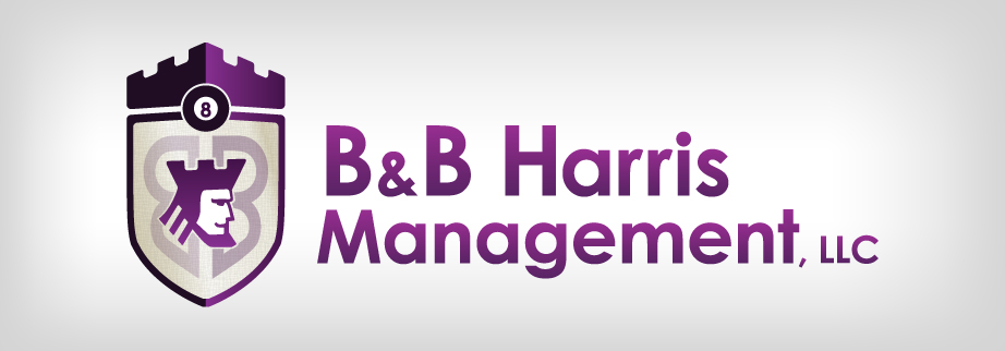 b and b harris logo