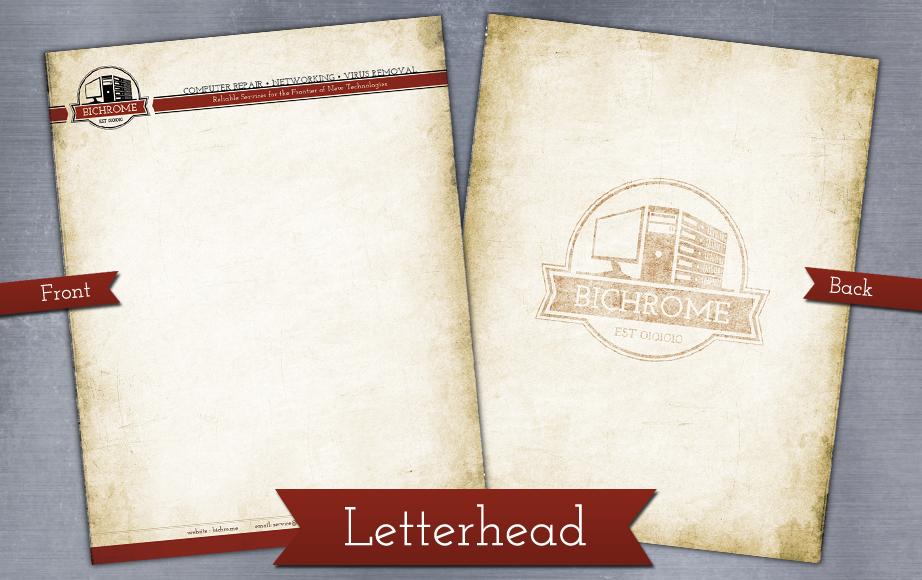 bichrome letterhead